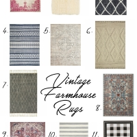 Vintage & Farmhouse Rugs