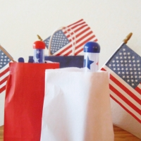 Kids Goodie Bags for 4th of July