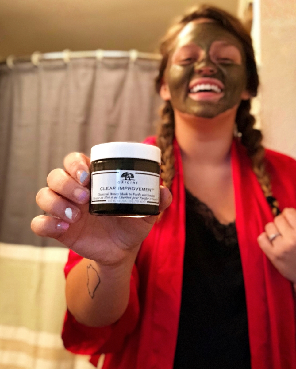 Origins Charcoal Honey Mask Review