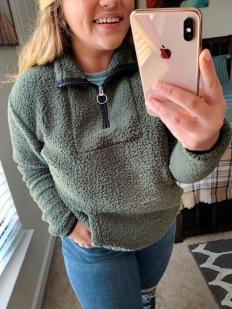 SWEATSHIRT: https://www.victoriassecret.com/pink/hoodies-and-sweatshirts/sherpa-quarter-zip-pink?ProductID=414433&CatalogueType=OLS
