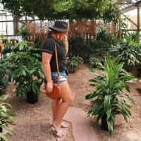Pajamas + Plants OOTD
