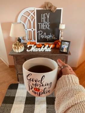 MUG: https://www.interiordelights.net/products/good-morning-pumpkin-mug